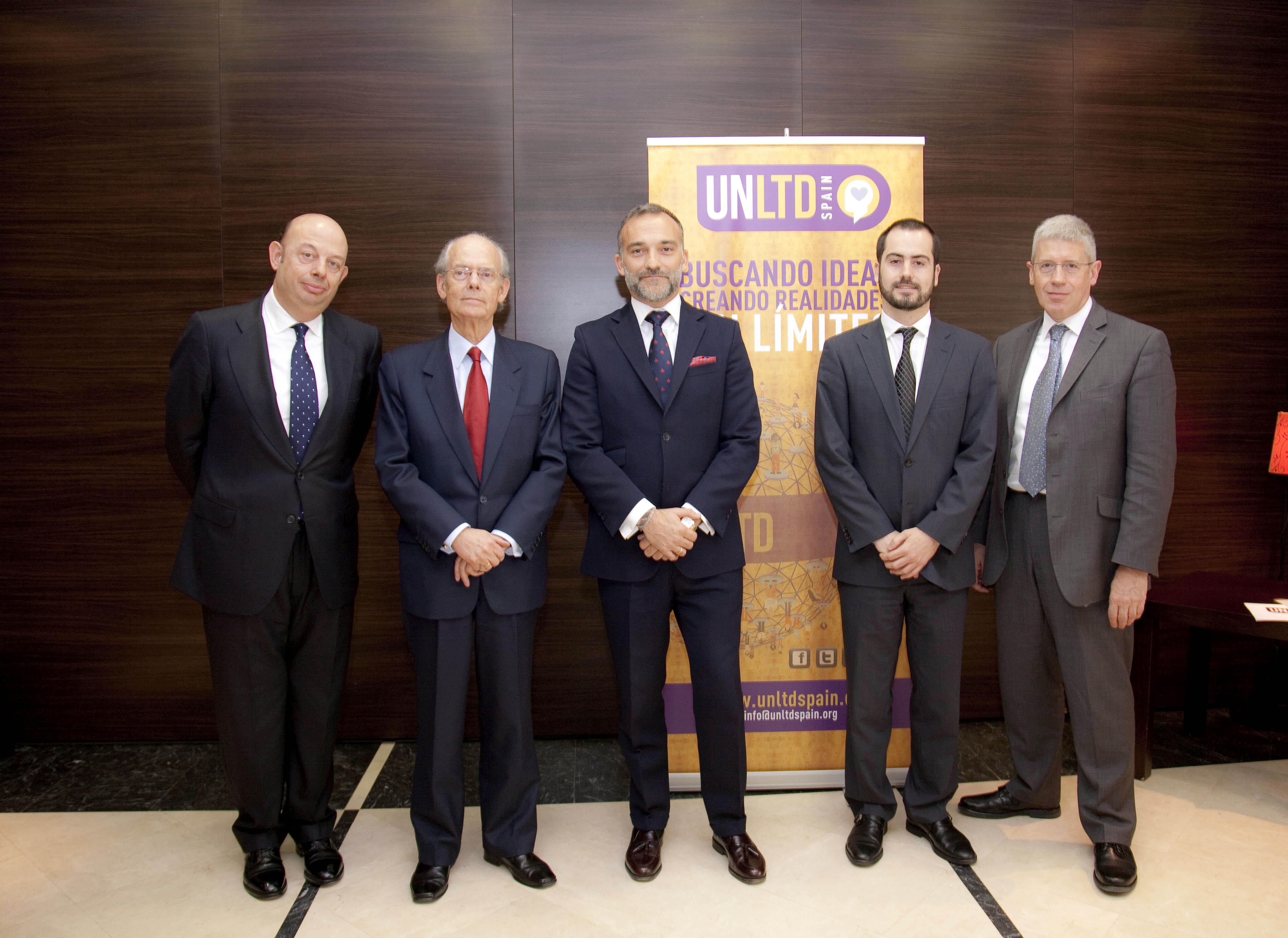 ACTO DE PRESENTACIÓN DEL PROGRAMA DE EMPRENDIMIENTO SOCIAL UNLTD SPAIN