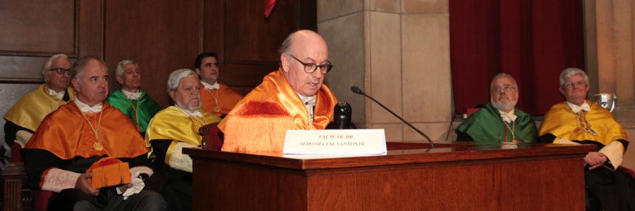 Ingreso del Dr. Aldo Olcese en la Real Academia Europea de Doctores