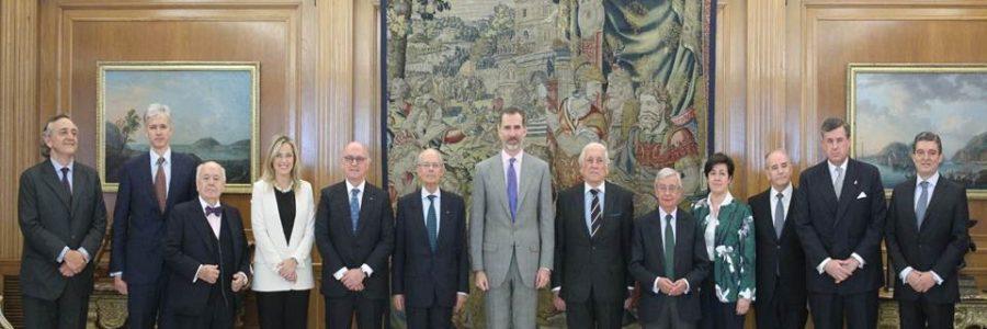 Audiencia con el Rey Felipe VI