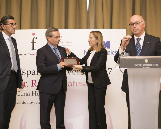 LA FUNDACIÓN INDEPENDIENTE DISTINGUE A  RAFAEL MATESANZ COMO 'ESPAÑOL UNIVERSAL 2017'