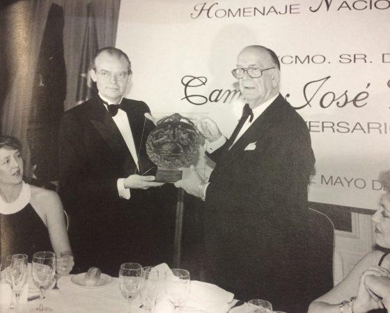 "CAMILO JOSÉ CELA ""ESPAÑOL UNIVERSAL"" 1996"