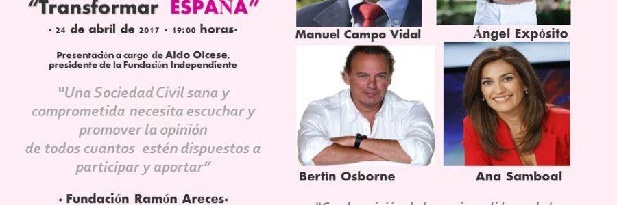 TRANSFORMAR ESPAÑA Tribuna Abierta
