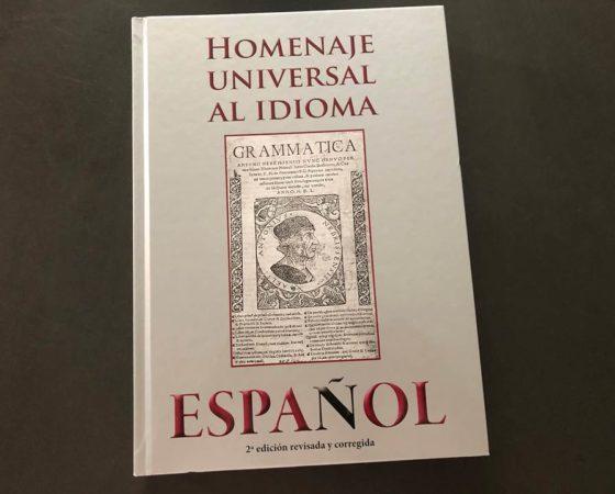 "LIBRO ""HOMENAJE UNIVERSAL AL IDIOMA ESPAÑOL"""