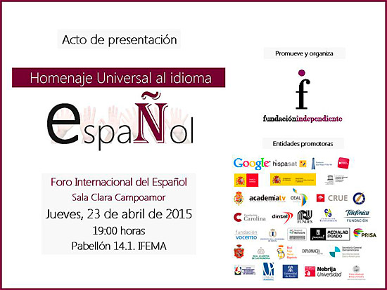 Homenaje Universal al idioma español