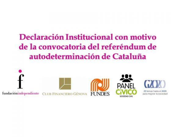 La institución hace público un manifiesto junto con Fundes, Panel Cívico de la Sociedad Civil y la Plataforma G2020 contra el acto de subversión del orden constitucional