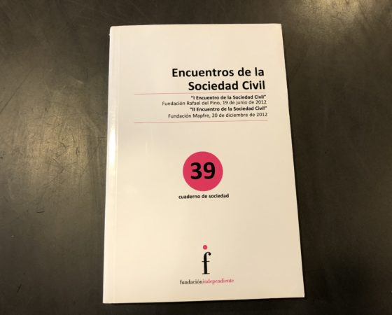 """LIBRO """"I Y II ENCUENTRO DE LA SOCIEDAD CIVIL"""""""