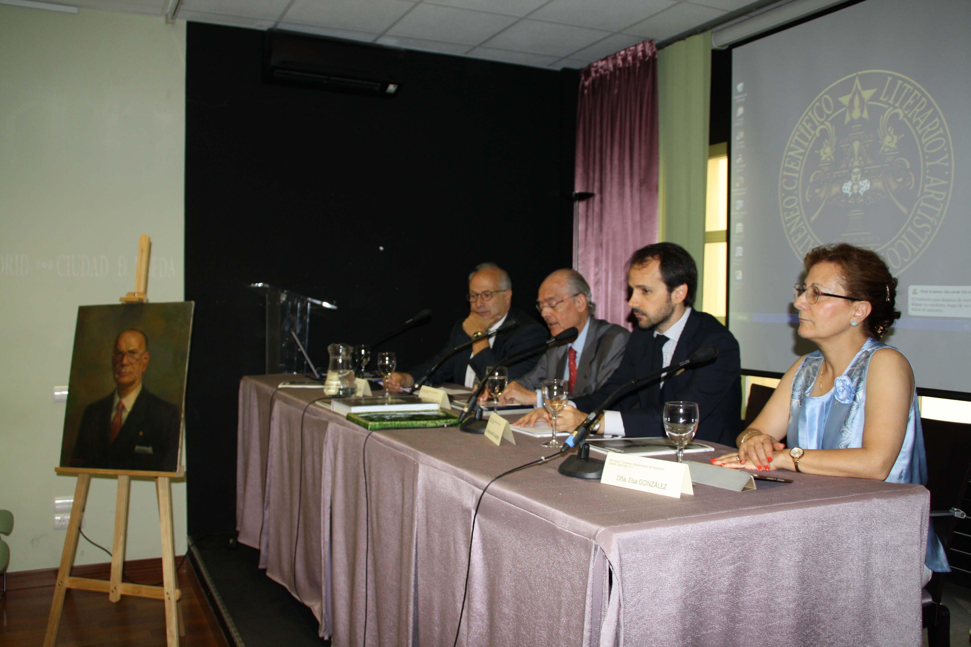 PRESENTACIÓN XIX Premio 'Fundación Independiente' de Periodismo Camilo José Cela 2016