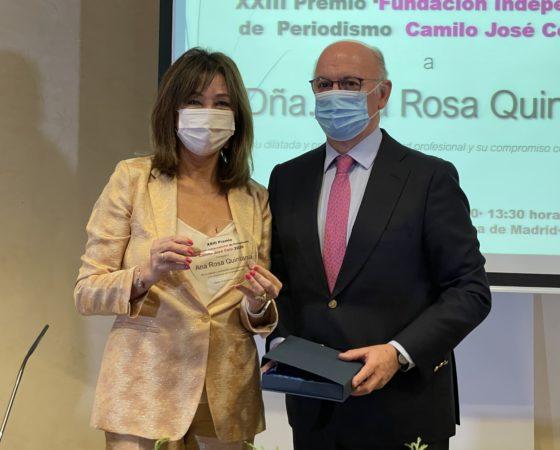 XXIII Premio 'Fundación Independiente' de Periodismo Camilo José Cela 2020