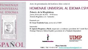 INVITACION PRESENTACION LIBRO HUIE 28.07.16