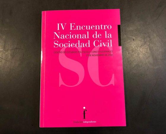 IV ENCUENTRO NACIONAL DE LA SOCIEDAD CIVIL
