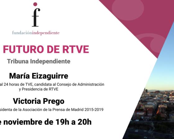 Debate con Victoria Prego y María Eizaguirre