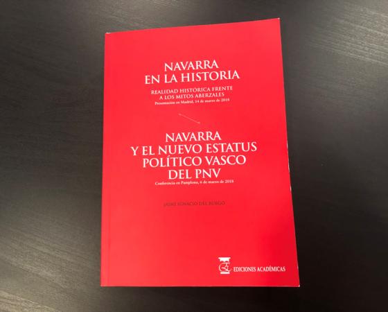 NAVARRA EN LA HISTORIA de Jaime Ignacio del Burgo