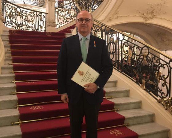 Aldo Olcese Santonja elegido Académico de Honor de la Academia de la Diplomacia