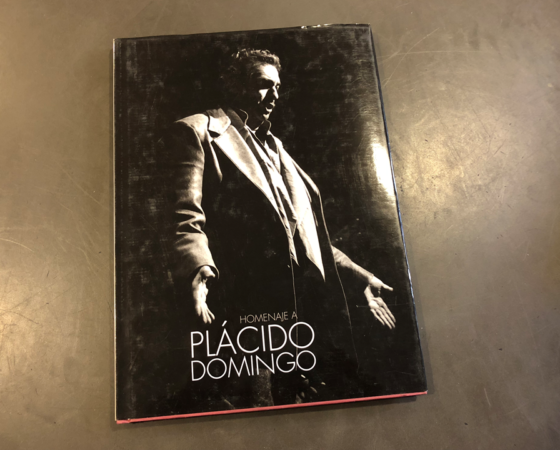 "LIBRO HOMENAJE PLACIDO DOMINGO ""ESPAÑOL UNIVERSAL"" 1997"