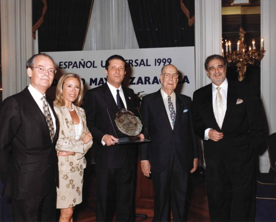 "FEDERICO MAYOR ZARAGOZA ""ESPAÑOL UNIVERSAL"" 1999"