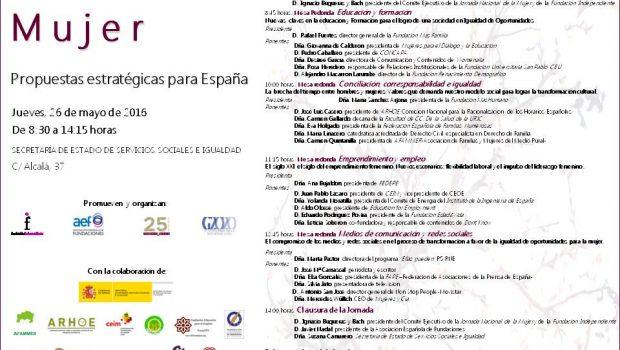 PROGRAMA JORNADA NACIONAL DE LA MUJER 26.05.16