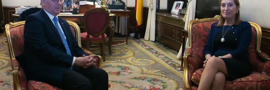 Reunión con la Presidenta del Congreso de los Diputados
