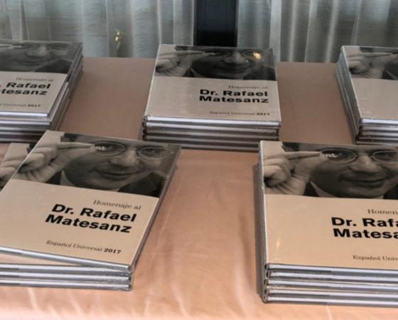 """Presentación Libro Dr. Rafael Matesanz """"Español Universal""""2017"""