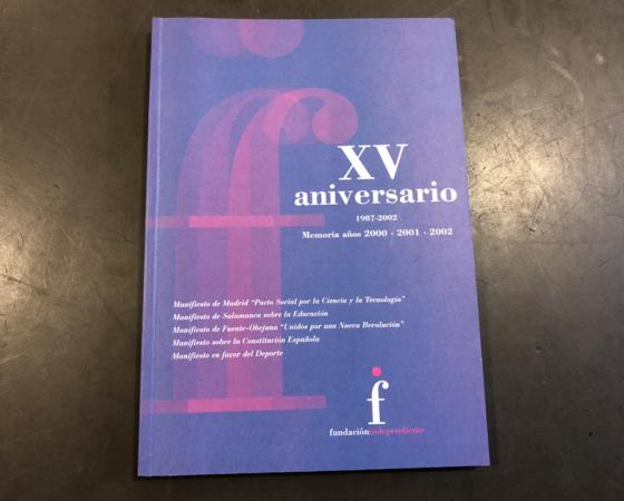 XV aniversario 1987-2002