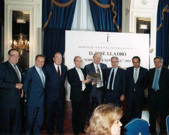 "JOSÉ LLADRÓ ""ESPAÑOL UNIVERSAL"" 2003"