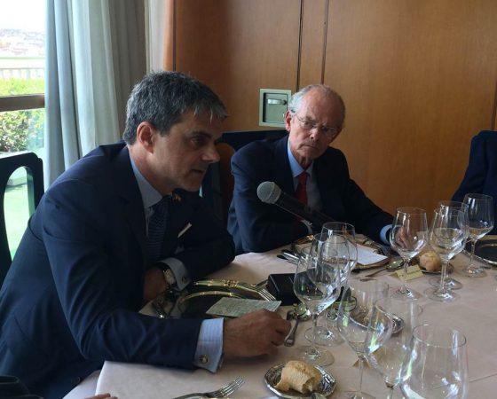 TRIBUNA INDEPENDIENTE JAIME MALET -PRESIDENTE DE LA CÁMARA DE COMERCIO DE ESTADOS UNIDOS EN ESPAÑA