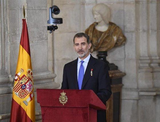 S.M. el Rey Felipe VI celebra su quinto aniversario como Rey de España