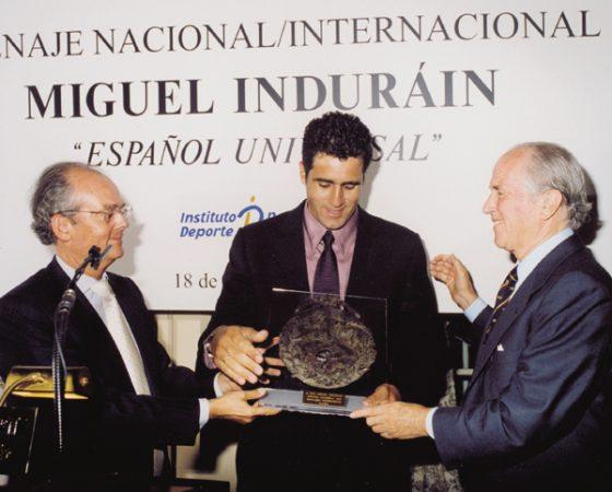 "MIGUEL INDURÁIN ""ESPAÑOL UNIVERSAL"" 2002"