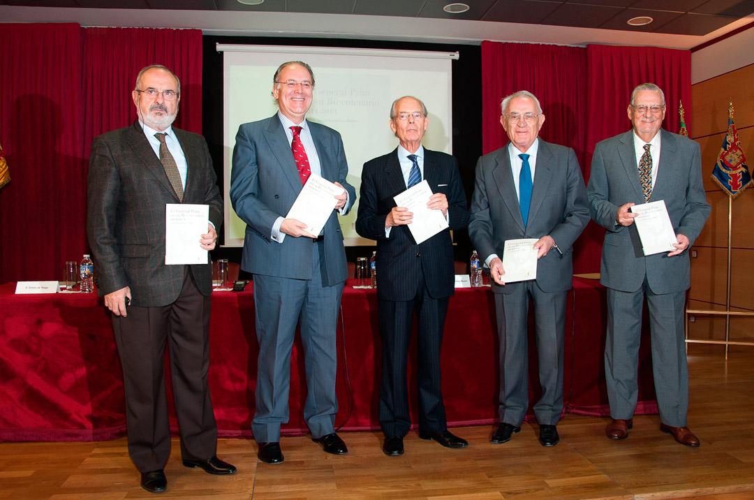 PRESENTACIONES LIBRO BICENTENARIO GENERAL PRIM