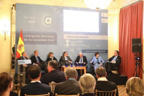 I Congreso Nacional de la Sociedad Civil -  Sesión IV. Mesa BGlobalización, revolución tecnológica y desarrollo sostenible: restos y desafíos