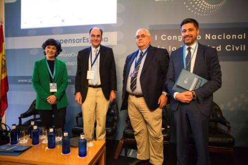 I Congreso Nacional de la Sociedad Civil - Sesión II. Mesa DEl necesario fortalecimiento de España como Nación: lo urgente y lo importante
