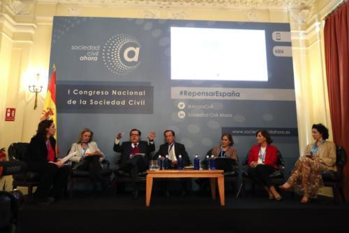 I Congreso Nacional de la Sociedad Civil - Sesión III. Mesa BLa familia como bien natural: Retos y Desafíos