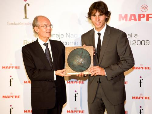 Entrega del Premio -Español Universal- 2009