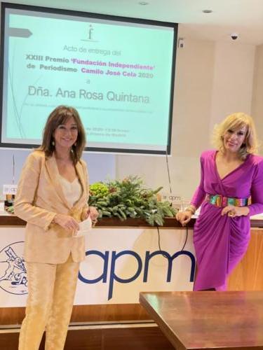 Ana Rosa QuintanaMaría Eizaguirre