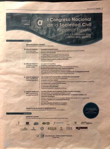 I CONGRESO SOCIEDAD CIVIL - EXPANSIÓN 23.07.19