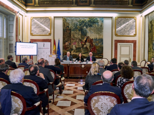 Inauguración VI Encuentro Nacional de Sociedad Civil