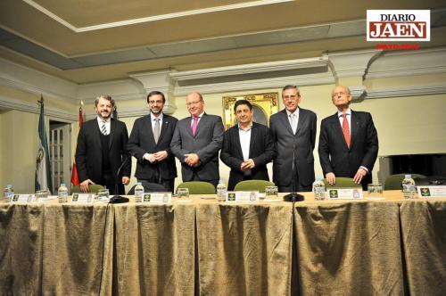 Presentación en la Diputación de Jaén