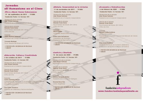 Jornadas «El Humanismo en el Cine» Debate a través del Cine. Programa completo