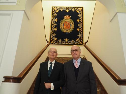 Ignacio Buqueras y BachPresidente de Honor de la Fundación IndependienteAldo Olcese SantonjaPresidente de la Fundación Independiente