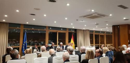 Presentación «Cambó» de Ignacio Buqueras en el Club Financiero Génova