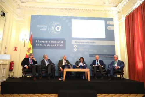 I Congreso Nacional de la Sociedad Civil - Sesión I. Mesa BEl Legado de la Transición