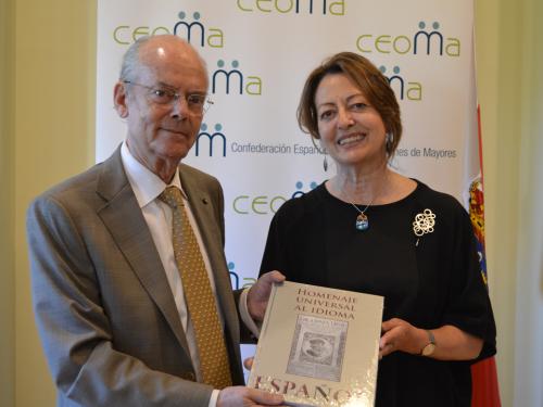 Carmen García Presidenta de CEOMA