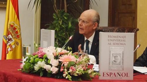 Ignacio Buqueras y BachPresidente del Comité Ejecutivo del HOMENAJE UNIVERSAL AL IDIOMA ESPAÑOL