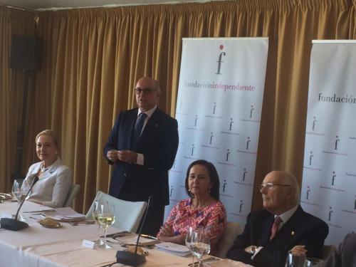 D. Aldo Olcese SantonjaPresidente de la Fundación Independiente