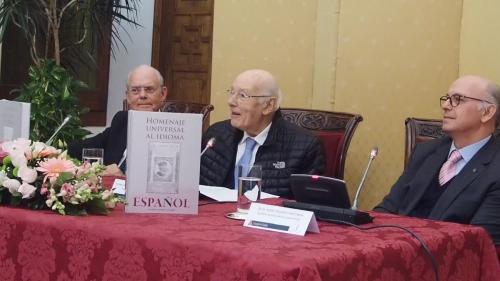 Presentación libroHOMENAJE UNIVERSAL AL IDIOMA ESPAÑOL en el Consejo de Estado