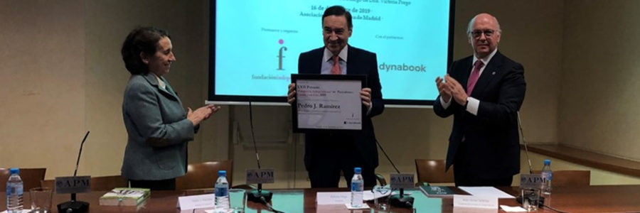 Pedro J. Ramírez, Premio 'Fundación Independiente' de Periodismo Camilo José Cela