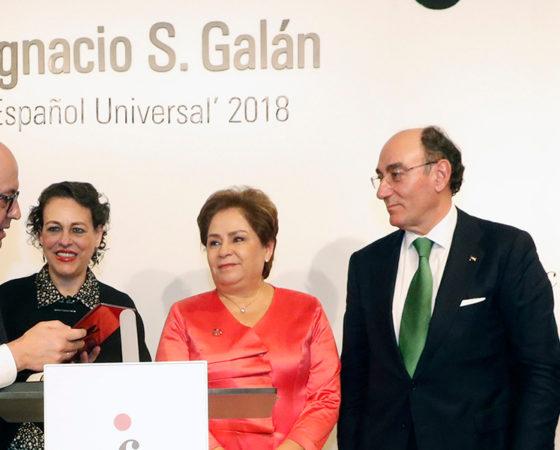 """Ignacio Galán """"Español Universal"""" 2018"""