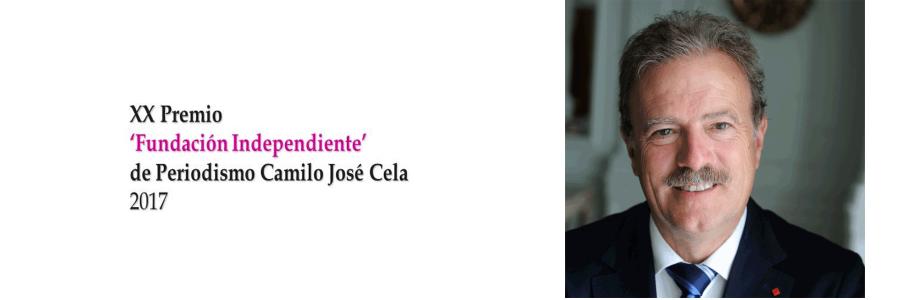 MANUEL CAMPO VIDAL, XX PREMIO 'FUNDACIÓN INDEPENDIENTE' DE PERIODISMO CAMILO JOSÉ CELA